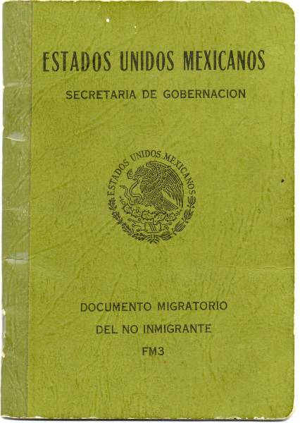 MEXICAN WORK PERMIT