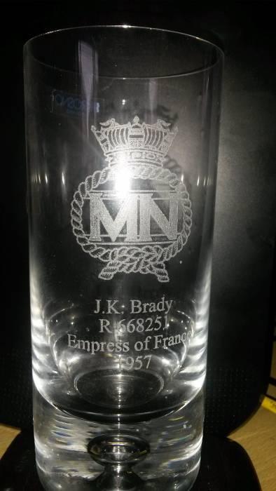 Glass   J K Brady