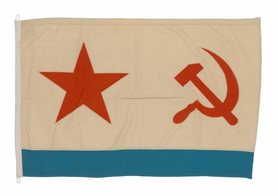 USSR NAVAL ENSIGN.